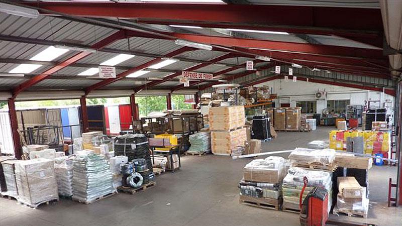 Transports Gèze Pau - Stockage et distribution marchandises
